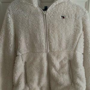 Tommy Hilfiger Sherpa zip up hoodie